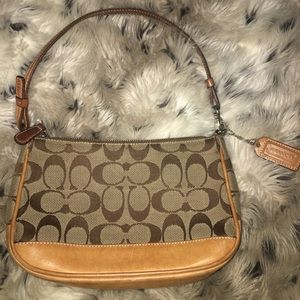 mini authentic coach purse!!